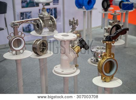 Various Industrial Valve, Butterfly Valve, Double Regulating Valve And Plug Valve