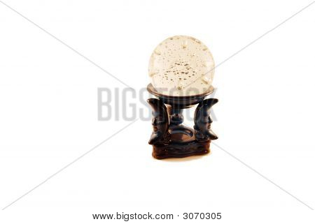 Crystal Ball On A Stand