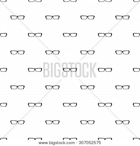 Astigmatic Glasses Pattern Seamless Vector Repeat Geometric For Any Web Design