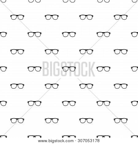 Eyeglasses With Diopters Pattern Seamless Vector Repeat Geometric For Any Web Design