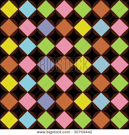 Pattern Diamonds Seamless