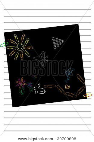Paper Clip Art Illustration