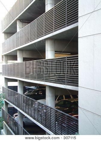 Large Multi-level Parking Garage