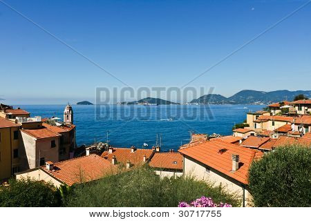 Panoramic View Of La Spezia Gulf