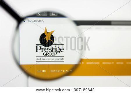 New York, New York State, Usa - 18 June 2019: Illustrative Editorial Of Prestige Estates Projects We
