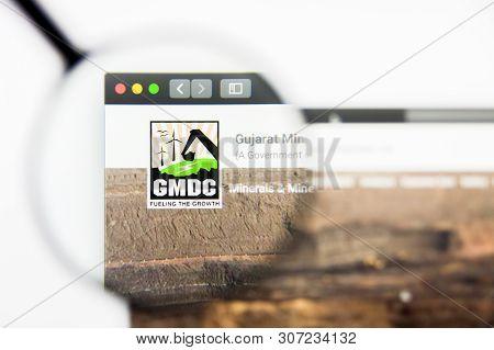 New York, New York State, Usa - 19 June 2019: Illustrative Editorial Of Gujarat Mineral Development
