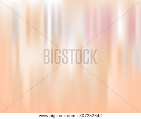 Peach Pink Blurred Background. Vector Modern Background For Posters, Brochures, Sites, Web, Cards, I