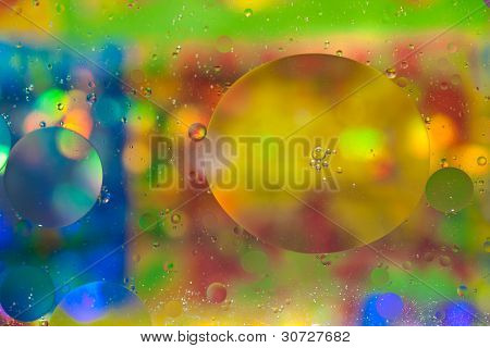 Blurred Bubble Background