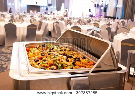 A Hotel Restaurant Food Catering Service Buffet Banquet For Wedding