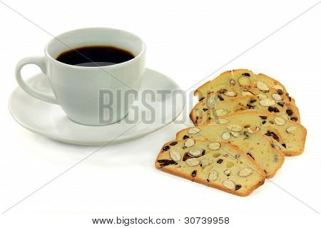 Coffee And Snack.