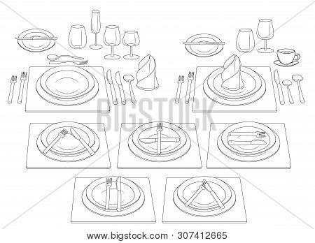Etiquette Table  Vector & Photo (Free Trial) | Bigstock