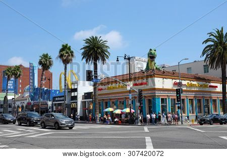 HOLLYWOOD - CALIFORNIA: JUNE 18, 2019: Ripleys Believe it or Not on Hollywood Boulevard and Highland Avenue.