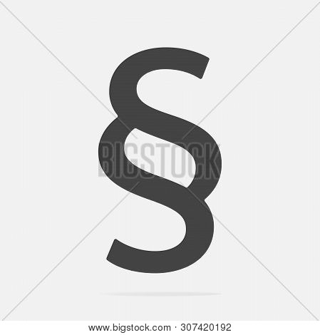 Vector Image Of A Paragraph. Vector Illustration With Paragraph