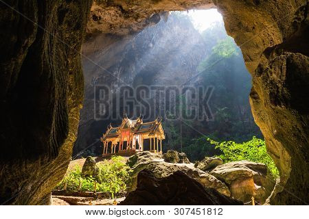 Amazing Phraya Nakhon Cave In Khao Sam Roi Yot National Park At Prachuap Khiri Khan Thailand Is Smal