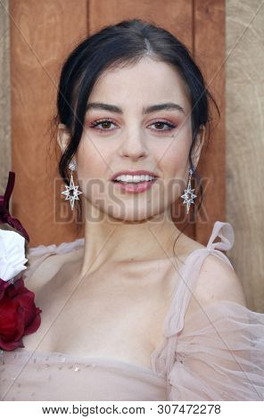 Katie Sarife at the Los Angeles premiere of 'Annabelle Comes Home' held at the Regency Village Theatre in Westwood, USA on June 20, 2019.