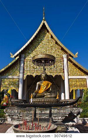Buddha Statues In Wat Chedi Luang