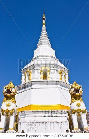 Chedi In Chiangmai