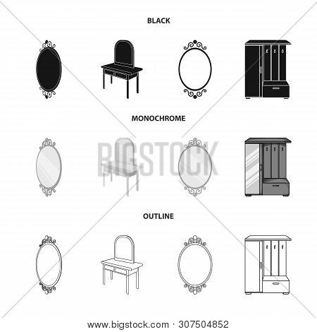 Isolated Object Of Imagery And Decorative Logo. Collection Of Imagery And Silver Vector Icon For Sto