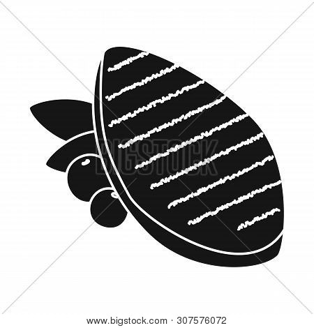 Vector Design Of Filet And Chicken Symbol. Set Of Filet And Hot Stock Vector Illustration.