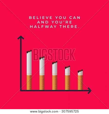 Inspiring Quotes About Quitting Smoking. World No Tobacco Day.