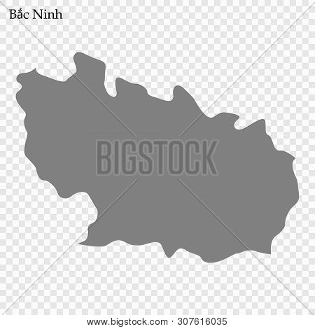 High Quality Map Of Bah Ninh Is A Province Of Vietnam