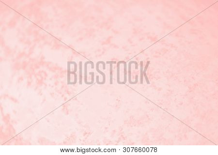 Patchy Pink Light Coral Color Background, Texture, Metal Iron Pattern