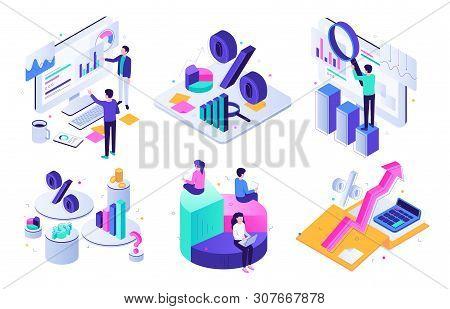 Financial Audit. Budget Graph, Tax Expert And Business Finance Balance Valuation. Managment Calculat
