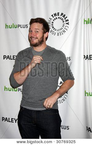 LOS ANGELES - MARCH 6: Chris Pratt arrives at the