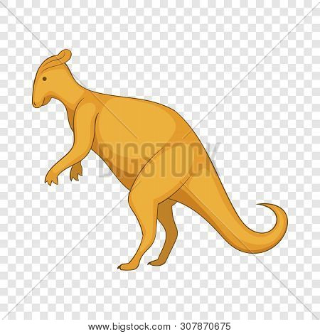 Oviraptor Icon. Cartoon Illustration Of Oviraptor Vector Icon For Web