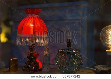 Little Still Life In A Shop Window