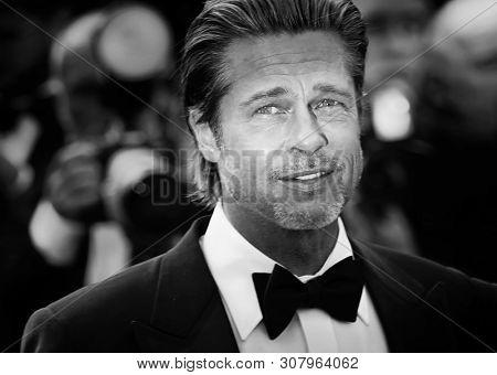 Brad Pitt attends the screening of