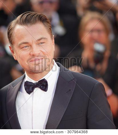 Leonardo DiCaprio attends the screening of