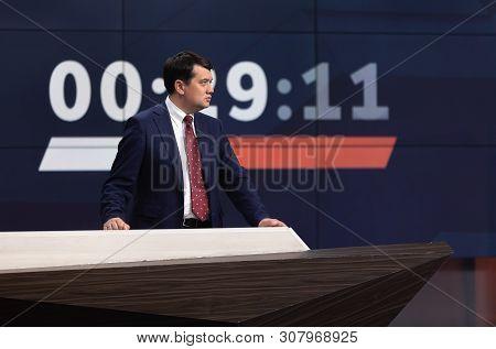 Leader Of The Party Sluga Naroda Dmitry Razumkov