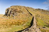 Hadrians Wall ascends the Whin Sill at Steel Rigg poster