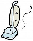 cartoon vacuum cleaner poster