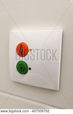 Nurse Call Buttons In A Medical Facility