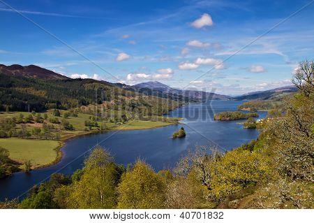 Queens View At Loch Tummel