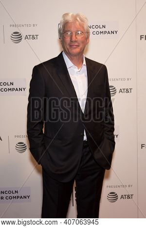 Richard Gere attends 'The Dinner' premiere during the 2017 Tribeca Film Festival at BMCC Tribeca Performing Arts Center on April 24, 2017 in New York City.