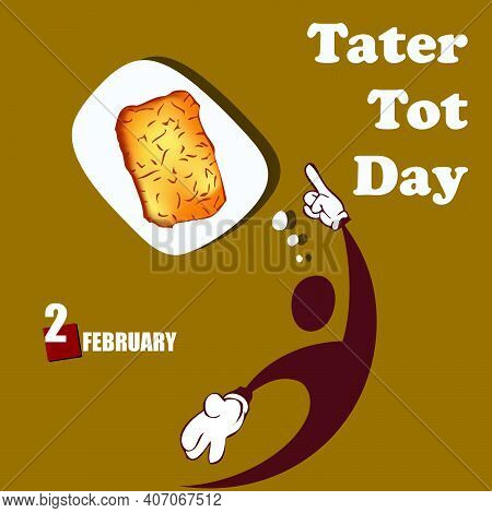 Invitation To The National Cuisine Holiday In The Usa - Tater Tot Day