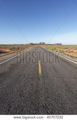 Vertical Long Road