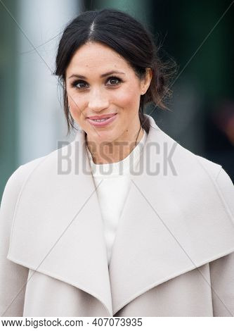 London, United Kingdom, November 2020, American Actress And Dutchess Of Sussex Meghan Markle