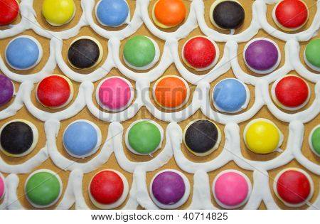 Colorful Candy Decoration