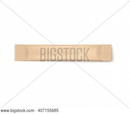 Stick Pack, Foil Bag, Color Sachet A Realistic 3d Vector Isolated Illustration