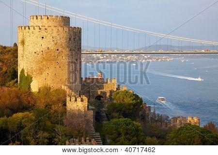 Fortress Rumelihisar. Istanbul, Turkey poster