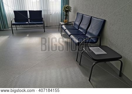 Waiting Room In A Hospital Or Clinic