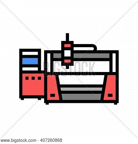 Laser Apparatus Color Icon Vector. Laser Apparatus Sign. Isolated Symbol Illustration