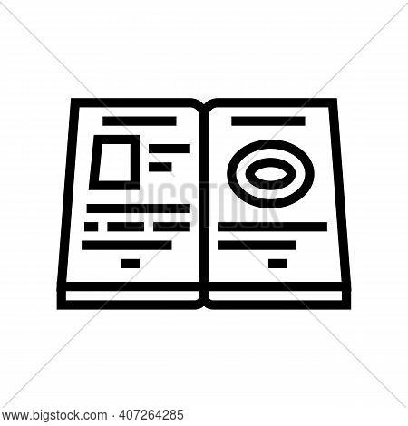 Help Allowance Line Icon Vector. Help Allowance Sign. Isolated Contour Symbol Black Illustration