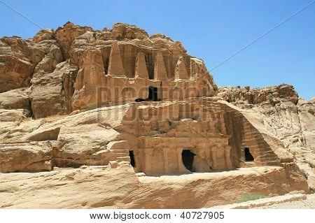 Old Rock Formation In Jordan