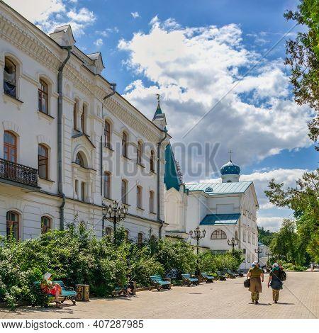 Svyatogorsk Lavra In Ukraine
