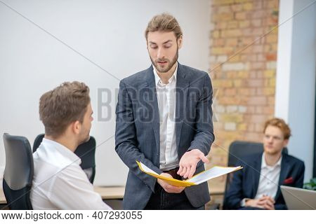 Outraged Manager Asking For Clarification From Employee